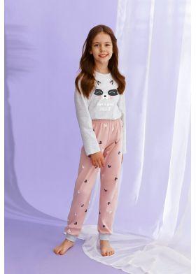 Dievčenské pyžamo TARO 2585 Suzan 92-116 Z22